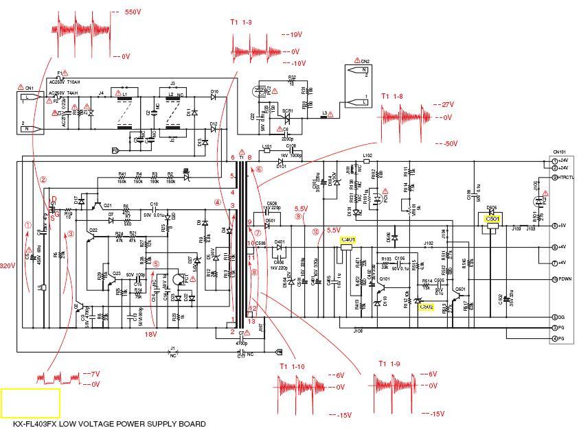 Kx flb813 схема - Заправка